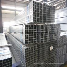 Tuyau en acier carré au carbone (eric)