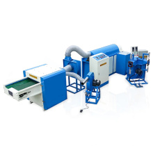 Automatic Latex Pillows Making Blowing Machine Polyester Fibre Pillow Filling Machine
