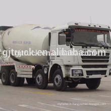 F3000 8 * 4 lecteur Shacman bétonnière camion / mélangeur / pompe mélangeur / bétonnière / camion de mélange