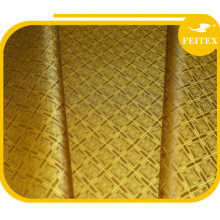 Le meilleur vente de tissu africain de jacquard de jacquard a teint le caftan de brocart de damassé pour le mariage