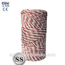 Polytape Polywire 400m rouleau poly ruban / fil clôture électrique pour électrificateur de clôture solaire