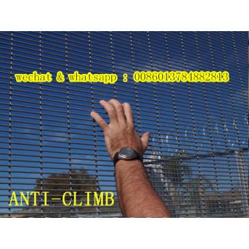 Valla de malla de alambre soldada con autógena anti-escalada