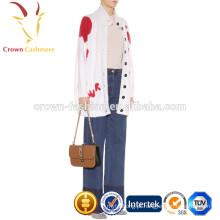 Chunky Knit Cardigan Cashmere Womens Branco