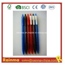 Prateleira de tinta barata com clique em azul