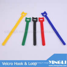 T forme crochet & bande boucle dans différentes longueurs