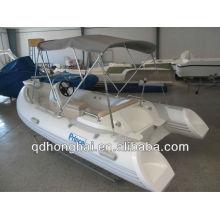 iate de 2013 RIB420C barco inflável com piso rígido