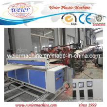 Ligne de production de panneaux de mousse en plastique