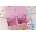custom two lids foldable storage boxes