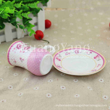 CE EU CIQ EEC FDA LFGB Certificates Porcelain Saucer For Hotel,Restaurant,Home,Dinner,Etc