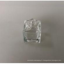 Bouteille en verre carrée de 10 ml