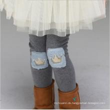 Reizendes Mode-Muster-regelmäßige Mädchen-dünne Talson-Wärmer-Hosen für Winter