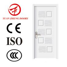 Última porta de madeira de design Porta da sala de porta interior