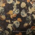 Tissus en daim pour vêtements à fleurs