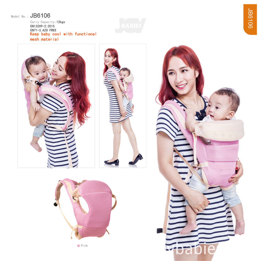 Soft Stretchy Cool Mesh Baby Carrier