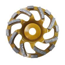150 mm PRO. Rueda de copa de molienda de diamante de hormigón turbo de calidad
