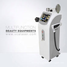 E-Light(IPL+RF)+Tripolar RF+Nd:YAG Laser equipment used in spa