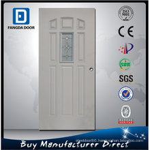 Fangda 8 Panel Steel Frosted Glass Inner Door