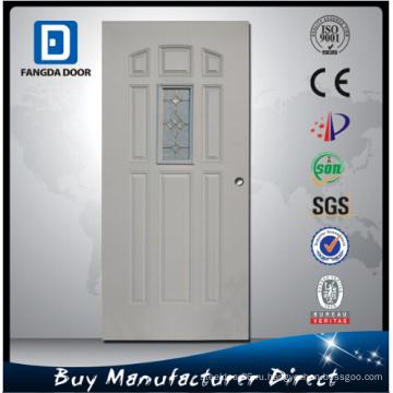 Фанда 8 Панель Сталь Матовое Стекло Внутренней Двери