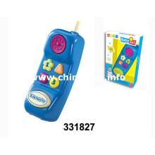 Venda quente brinquedos de plástico musical do telefone móvel (331827)