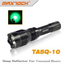 Policía de Maxtoch TA5Q-10 marca linterna