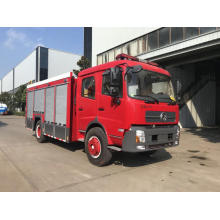Dongfeng forest fire truck 4x4 drive Cummins engine