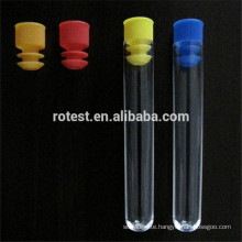 Test Tube Stopper 12mm,Flange Type,PP