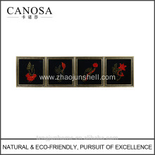 CANOSA seashell chinese design Wall Picture with wood frame