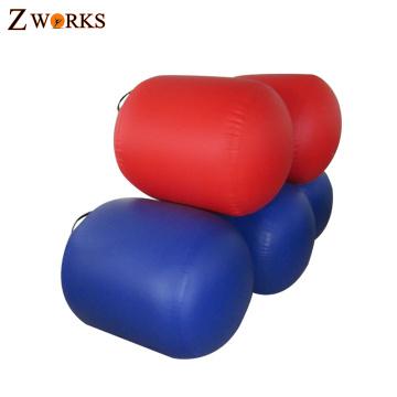 Rollo de aire de la gimnasia material del PVC del grueso del más nuevo diseño personalizado