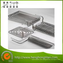 Bimetall Titanium Stailess Steel Clad Tube