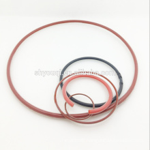 Soft covered silicone rubber o-ring