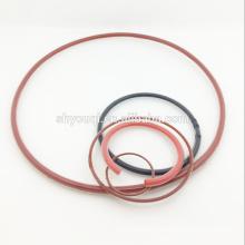 Мягкий покрытый силиконовой резины о-кольцо