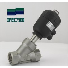 Sanitary Stainless Steel Angle Seat Valve