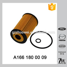 Best price new arrival auto filter oil OEM.A166 180 00 09 BOSCH 1 457 429 138