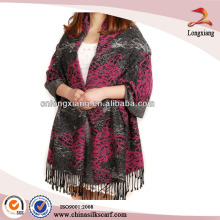 Las mujeres envuelven el mantón de doble cara de Pashmina, los mantones españoles, los chales baratos de Pashmina
