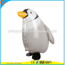 Hot Sell Walking Balloon Animal Toy Foil Balloon Penguin para Christms Gift