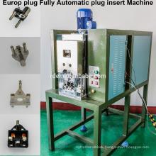 fully automatic 16A europe plug inserts riveting machine