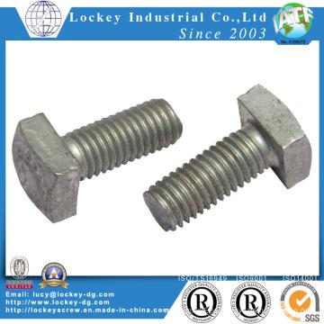 Hochfeste Stahl Vierkantschraube HDG