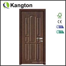 Porta econômica do PVC do MDF do interior (porta do PVC do MDF)