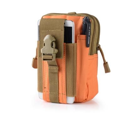 Tactical Molle Pouch im Freien EDC Utility Gadget Gürtel Running Waist Bag mit Handy-Holsterhalter