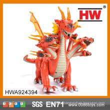 Игрушки-забавные пластмассовые детские игрушки с роботом-динозавром