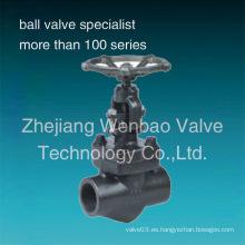 Válvula de acero forjado del globo (J11H / J61Y)