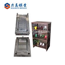 Buen diseño de inyección de plástico armario gabinete cajón molde / molde con buena calidad