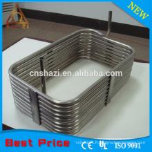 Éléments de chauffage de la bobine annulaire carrée