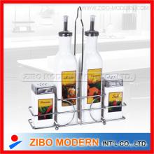 Nouveau design de 4PCS Set White Glassware avec impression (Zibo Modern) (GA3053)