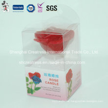 Wholesale Beautiful Flower Shape Candle