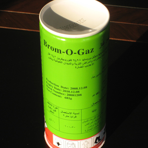 methyl bromide in can2