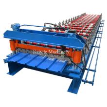 Trapezoidale Form-Dach-Blatt-Rolle, die Maschine bildet