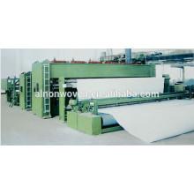 Máquina de fabricación de geotextil no tejido