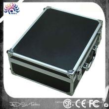 Caixa de alumínio da máquina do tatuagem Jogo do jogo do tatuagem Esvazie a caixa da caixa do transporte, caixa de alumínio grande da caixa do jogo do tatuagem
