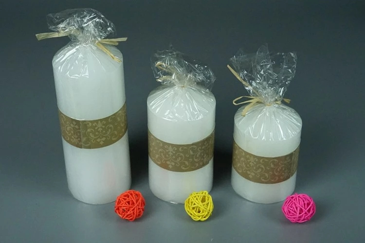 Fast Shipment High Service Paraffin Wax Pillar Candle 1